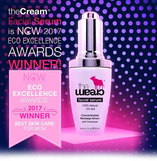 theCream® Facial Serum WINS a 2017 Beauty AWARD!