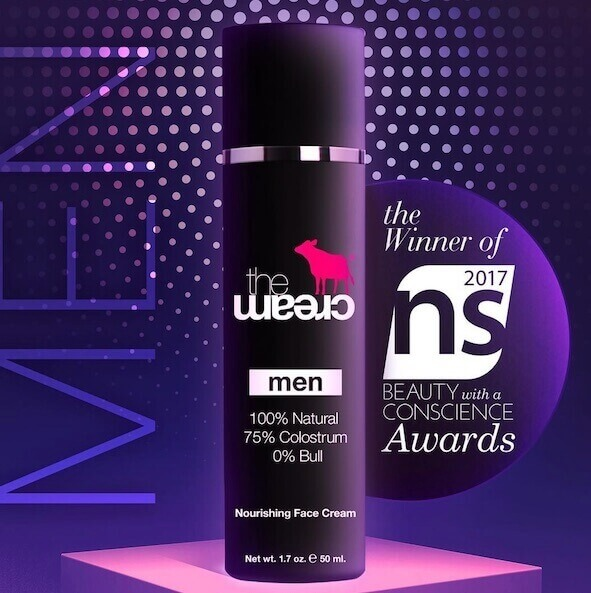 theCream for MEN wins a BEAUTY AWARD!