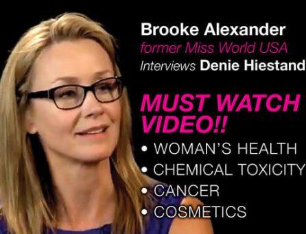 Brooke Alexander, former Miss World USA, interviews Denie Hiestand.